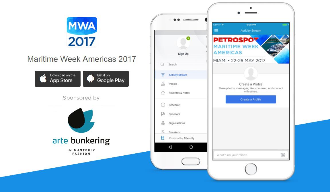 MWA Event App Landing Page